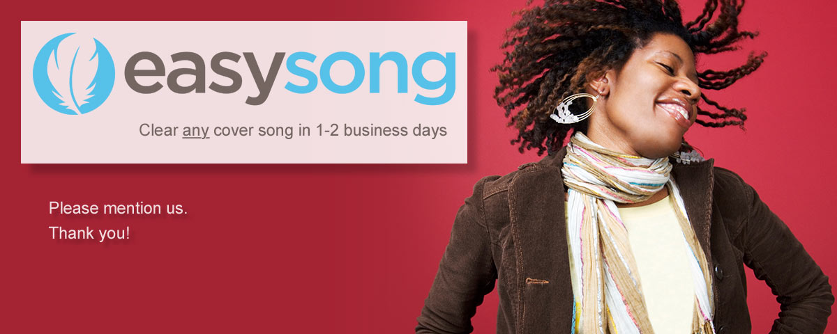 Clear any cover song in 1-2 business days with Easy Song Licensing.