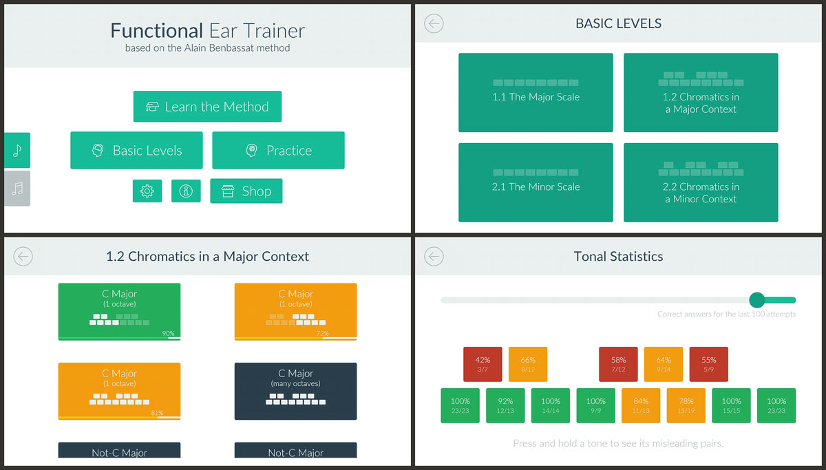 »Complete Ear Trainer« by Kaizen9 Apps